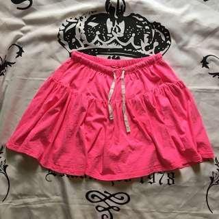 90s Fashion Neon Skirt