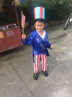 For Rent— Mr. United States of America Costume