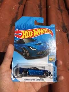 Corvette C7 Z06 Convertible (Blue) Hotwheels