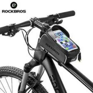 Bicycle Bag,Waterproof Touch Screen Cycling Top Front Tube Frame Bag