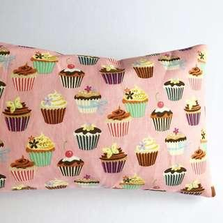 🌈 Bean Sprout Husk Pillow / Beanie Pillow , Fabric from USA ( 100% Handmade 100% Cotton , Premium Quality!) cupcakes