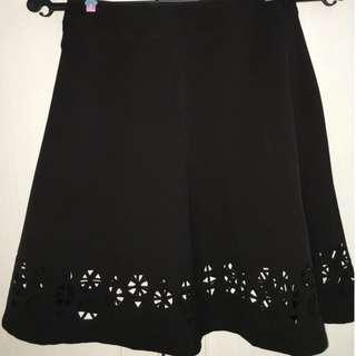 Zalora Lasercut Skirt