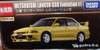 Tomica MITSUBISHI LANCER GSR EVOLUTION III