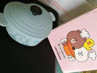 Le Crueset Line Friends 貯物盒