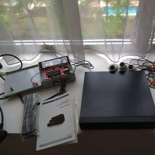 CCTV DVR 4-channel system DIY