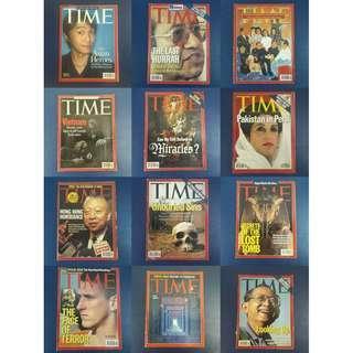 Time Magazine - 12 Books Bundle Lot