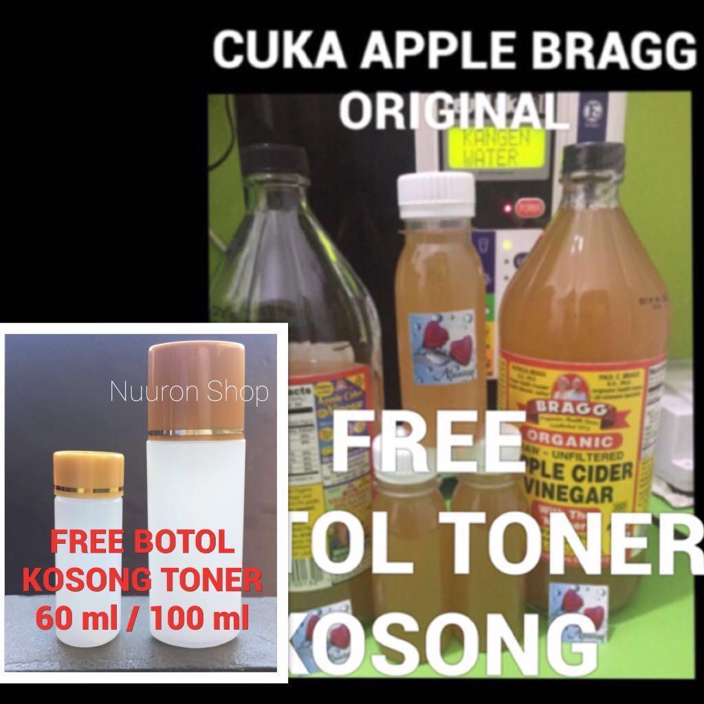 125 ML Bragg Apple Cider Vinegar ( Cuka Apel Murni / Pure ), Health & Beauty, Skin, Bath, & Body on Carousell