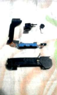 (Charging port,speaker,camere dpan dn belakang iphone 4s)