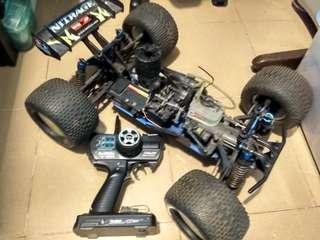 Tamiya Nitrage. With 2.4Ghz 3 ch Tx and Rx  (Rare)