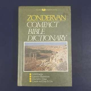Zondervan Compact Bible Dictionary (Hardcover)