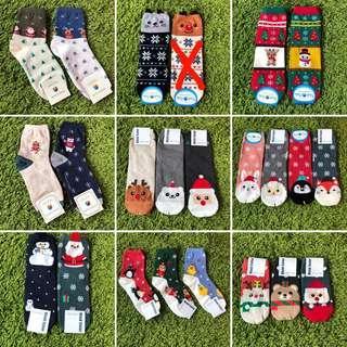 Christmas Korean socks