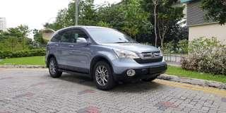 Honda CRV 2.0A  Toyota Camry 2.4A car vehicle for rent rental