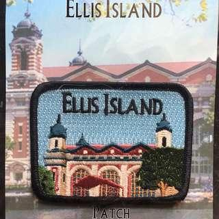 Ellis Island Iron On Patch