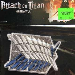 Attack on Titan Iron On Patch