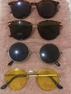 Sunglasses - take all for 250