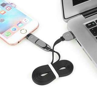 USB Charging Cable Sync Micro For Iphone Android NKT01