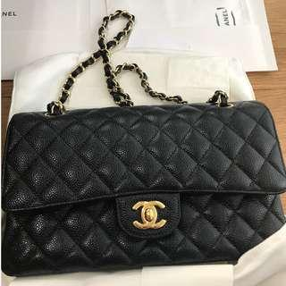 1d941a0db158d6 Brand New Condition - CHANEL Classic Double Flap Black Caviar (Medium)