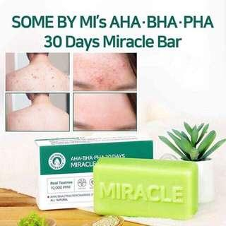 Some by Mi Miracle Cleansing Bar soap