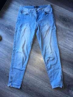 Mirrou size 8 skinny jeans