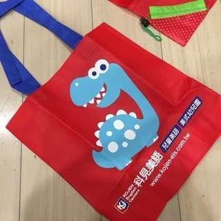 🚚 科見美語 恐龍購物袋