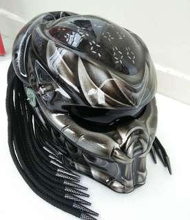 Predators motorbike helmet with DOT Approved