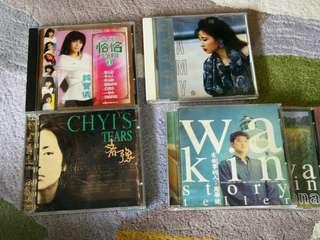 Music CDs chinese oldies
