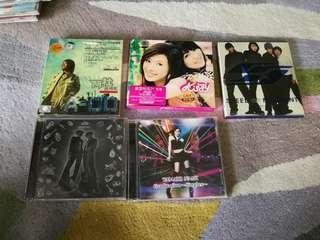 Albums original cd 3 dollar each