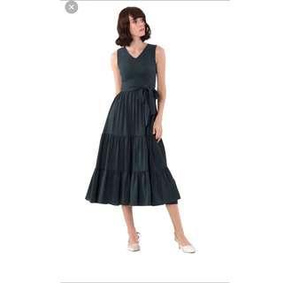 Doublewoot Forest Green Dress