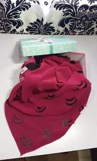 Arzu silk scarf