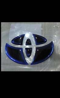 Toyota Camry RAV4 前後 油電貼標16CM