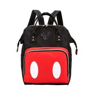 Brand New Instock Disney Mickey Mouse Canvas Backpack