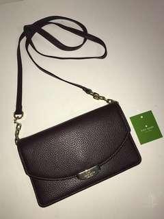 NWT Kate Spade Crossbody Wallet
