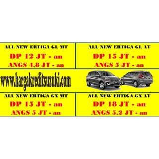 Promo All New Ertiga Dp 5 Jutaan