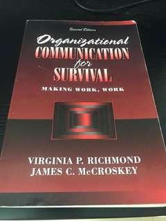 Organisational Communication for Survival