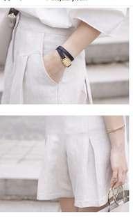 米色短褲(made in Korea)