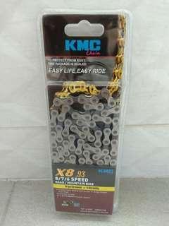 KMC 6 7 8 Speed Chain X8 .93