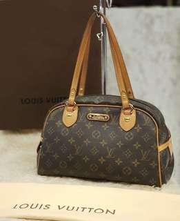 Louis Vuitton Monogram Canvas Montorgueil PM Bag ❤BIG SALE P33k ONLY❤ Excellent condition With dustbag box and lockset Swipe for detailed pics Cash/card/layaway accepted