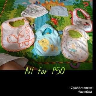 Bibs /Bonnet for baby boy