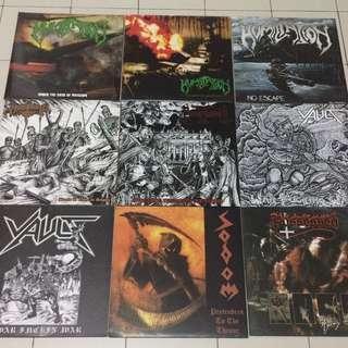⭐️ Used LP : Humiliation Morbosidad Necromessiah Possessed Sodom Vault