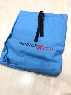 Swatch收納帆布袋