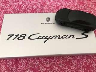 718 Cayman S Porsche Collectible