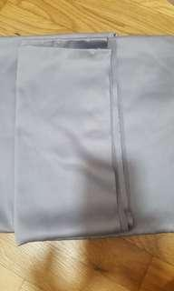 Fabric grey / dark silver