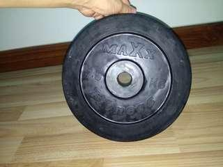 [4 for Rm50] MAXX Rubberized 7.5kg plates