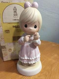 Buy 3 Get 1 Free : Precious Moments Girl With Ring Figurine : I Still Do