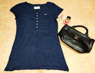 Hollister navy blue shirt ❤❤❤