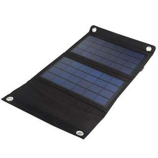 7W Foldable Solar USB Power Bank Battery Charger