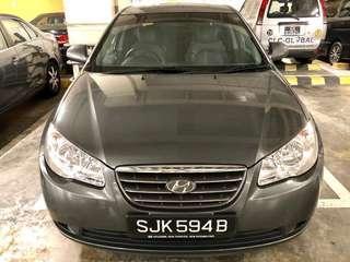 Hyundai Avante 1.6A  $290/w - Car Rental