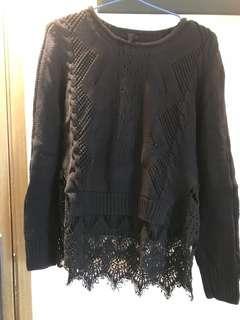 Rococo lace 拼 top