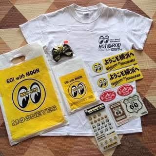 ⭐️ MOONEYES Japan T-Shirt & Other Accessories