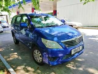 Toyota Innova Ex Taxi